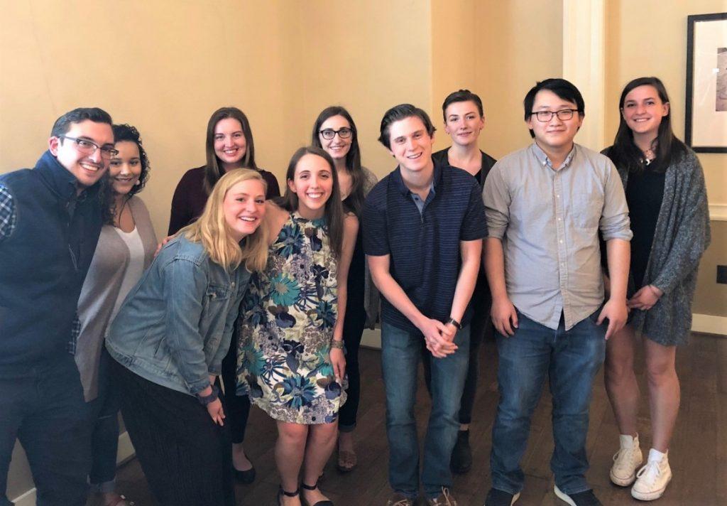 2017-18 English Student Award Winners