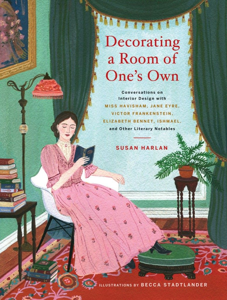 Cover of Susan Harlan's book Decorating A Room of One's Own