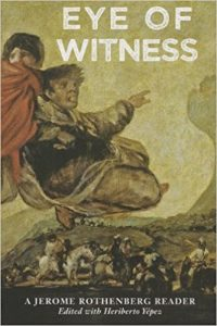 Book cover for Eye of the Witness by Jerome Rothenberg