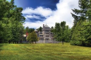 The grounds of Yaddo, artist community
